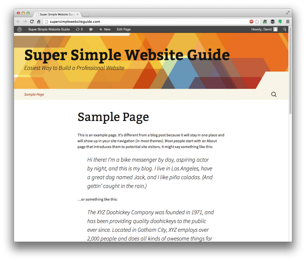 10842a380c How To Add Pages And Posts To Your WordPress Website - SuperSimpl -