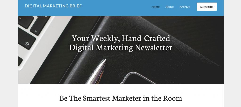 digital-marketing-brief