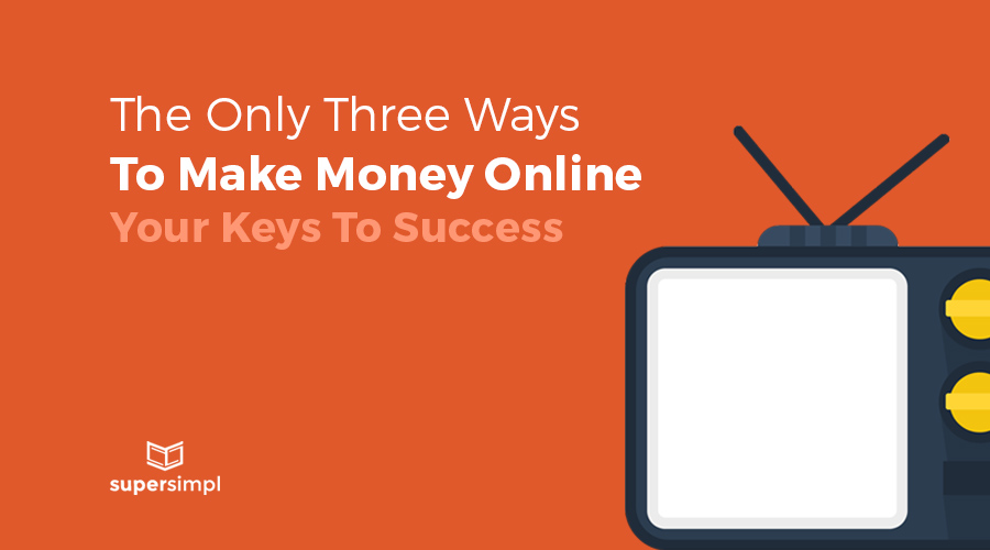 ways to make money online grahpic